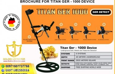 Titan Ger 1000  Gold and Metal Detectors  golden detector group