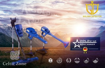 The newest metal detector 2021 Gold Star 3D Scanner (4)