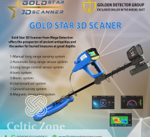 Gold Star 3D Scanner The bet metal detector in iran